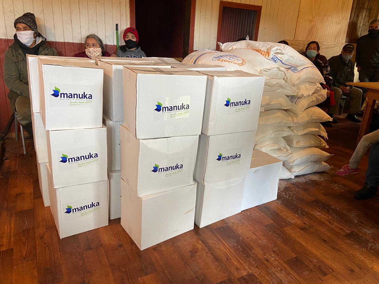 Cajas de donaciones Manuka